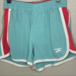 Brooks Mint color sport shorts size XS